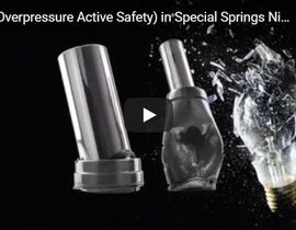 OPAS SAFETY FEATURE IN NITROGEN GAS SPRINGS