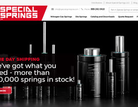 SPECIAL SPRINGS LAUNCHES NEW WEBSITE FOR NORTH AMERICA